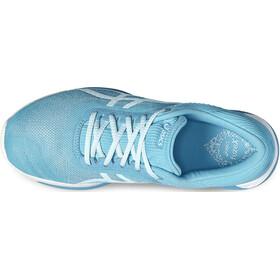 asics fuzeX Rush Zapatillas Mujer, aquarium/white/pale blue